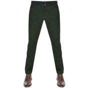Tommy Hilfiger Denton Straight Fit Chinos Green