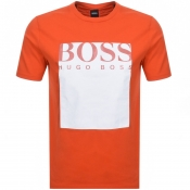 BOSS Casual Tauch 2 T Shirt Orange