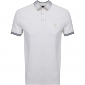 BOSS Casual Polarised Polo T Shirt Beige