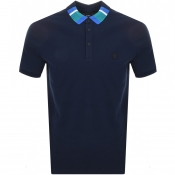Product Image for BOSS Casual Polarised Polo T Shirt Navy