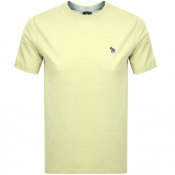 PS By Paul Smith Regular Fit T Shirt Yellow