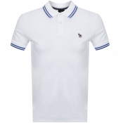 Product Image for PS By Paul Smith Slim Fit Zebra Polo T Shirt White