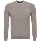 Product Image for BOSS Casual Kalassyo Knit Jumper Beige