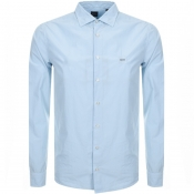 BOSS Casual Mypop Shirt Blue