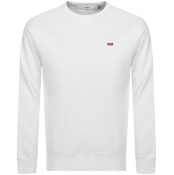 Product Image for Levis Crew Neck Sweatshirt White
