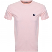 Product Image for Les Deux Crew Neck Piece T Shirt Pink