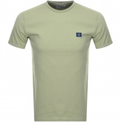 Product Image for Les Deux Crew Neck Piece T Shirt Green