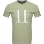 Product Image for Les Deux Crew Neck Encore T Shirt Green