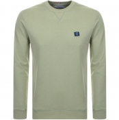 Product Image for Les Deux Piece Crew Neck Sweatshirt Green