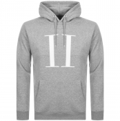 Product Image for Les Deux Encore Logo Hoodie Grey