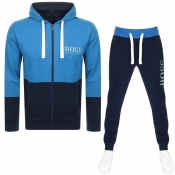 BOSS HUGO BOSS Lounge Tracksuit Navy