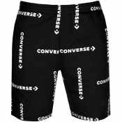 Converse Grid Workman Logo Shorts Black