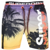 Superdry Beach Volley Swim Shorts Black