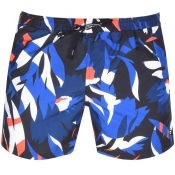 BOSS HUGO BOSS Batfish Floral Swim Shorts Black
