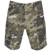 G Star Raw Rovic Nozzle Relaxed Shorts Khaki