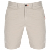 Superdry Slim Chino Lite Shorts Beige