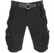 Superdry Core Cargo Heavy Shorts Black