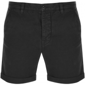 Nudie Jeans Luke Twill Shorts Black