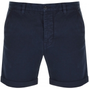 Nudie Jeans Luke Twill Shorts Navy