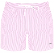 BOSS HUGO BOSS Velvetfish Swim Shorts Pink