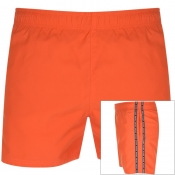 HUGO Anguilla Swim Shorts Orange