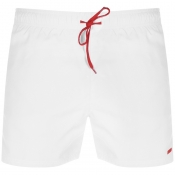 HUGO Barbados Swim Shorts White