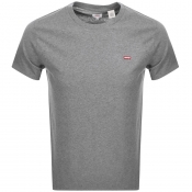 Product Image for Levis Original Crew Neck Logo T Shirt Grey
