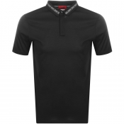 HUGO Divorno Polo T Shirt Black