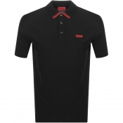 HUGO Dyler 193 Polo T Shirt Black