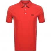 Product Image for HUGO Dyler 193 Polo T Shirt Red