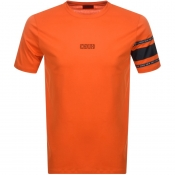 HUGO Durned U6 T Shirt Orange