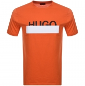 HUGO Dolive 193 T Shirt Orange