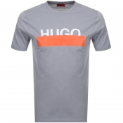 HUGO Dolive 193 T Shirt Grey