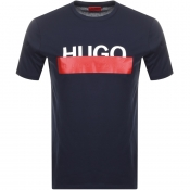 HUGO Dolive 193 T Shirt Navy