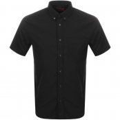 HUGO Ekilio Short Sleeve Shirt Black