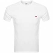 Product Image for Levis Original Crew Neck Logo T Shirt White