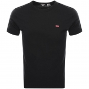 Levis Original Crew Neck Logo T Shirt Black