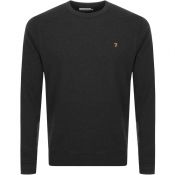 Product Image for Farah Vintage Tim Sweatshirt Black