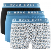 BOSS HUGO BOSS Underwear Triple Pack Boxer Trunks