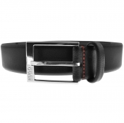 Product Image for HUGO Gellot Leather Belt Black