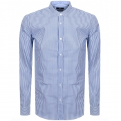 BOSS HUGO BOSS Long Sleeve Jorris Shirt Blue