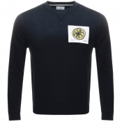Product Image for Kent And Curwen Stone Roses Lemon Sweatshirt Black