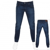 Product Image for G Star Raw 3301 Straight Jeans Blue
