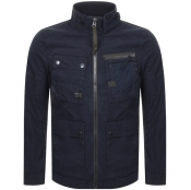 Product Image for G Star Raw Grizzer Field Overshirt Jacket Navy