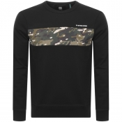 Product Image for G Star Raw Core Crew Neck Sweatshirt Black
