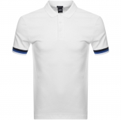 BOSS HUGO BOSS Parlay 52 Polo T Shirt White
