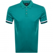 BOSS HUGO BOSS Parlay 52 Polo T Shirt Green