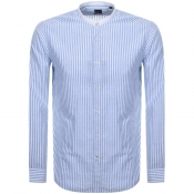 Product Image for BOSS HUGO BOSS Long Sleeve Lamberto Shirt Blue