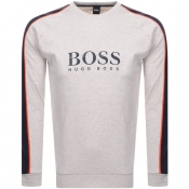 BOSS HUGO BOSS Contemporary Sweatshirt Beige Marl