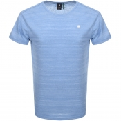 Product Image for G Star Raw Starkon Logo T Shirt Blue